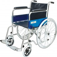 Entros Adjustable Stainless Steel Foldable Wheel Chair
