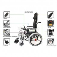 Power Recline Wheelchair